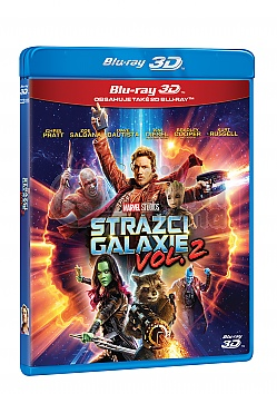 Guardians of the Galaxy vol. 2 3D + 2D