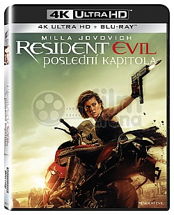 Resident Evil: The Final Chapter 4K Ultra HD