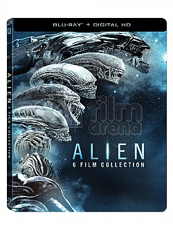 ALIEN Anthology Steelbook™ Limited Collector's Edition + Gift Steelbook's™ foil + Gift for Collectors