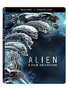 ALIEN Anthology Steelbook™ Limited Collector's Edition + Gift Steelbook's™ foil + Gift for Collectors (6 Blu-ray)