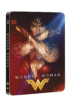 WONDER WOMAN 3D + 2D Steelbook™ Limited Collector's Edition