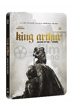 KING ARTHUR: Legend of the Sword 3D + 2D Steelbook™ Limited Collector's Edition