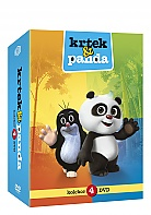 Krtek a Panda  Collection (4 DVD)