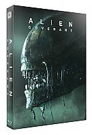 FAC #85 ALIEN: Covenant FULLSLIP + LENTICULAR MAGNET Edition 1 Steelbook™ Limited Collector's Edition - numbered (Blu-ray)