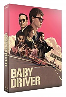 FAC #88 BABY DRIVER FullSlip XL + Lenticular Magnet 4K Ultra HD Steelbook™ Limited Collector's Edition - numbered + CD Soundtrack (3 Blu-ray + CD)