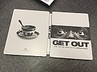 GET OUT Steelbook™ Limited Collector's Edition + Gift Steelbook's™ foil