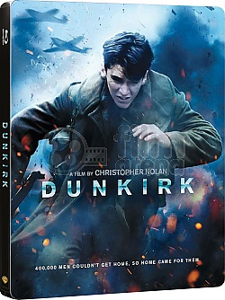 DUNKIRK Steelbook™ Limited Collector's Edition + Gift Steelbook's™ foil