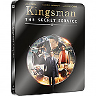 Kingsman: The Secret Service WWA Steelbook™ Limited Collector's Edition + Gift Steelbook's™ foil (Blu-ray)