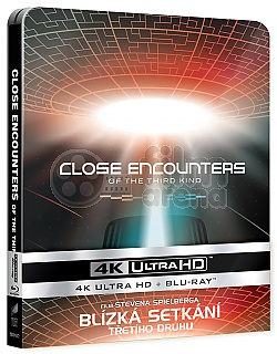 Close Encounters of the Third Kind 4K Ultra HD Steelbook™ Limited Collector's Edition + Gift Steelbook's™ foil