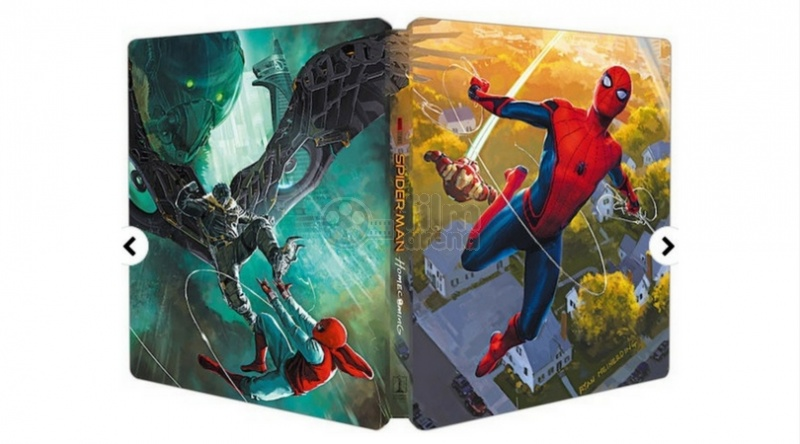 SPIDER-MAN: Homecoming WWA generic 3D + 2D Steelbook