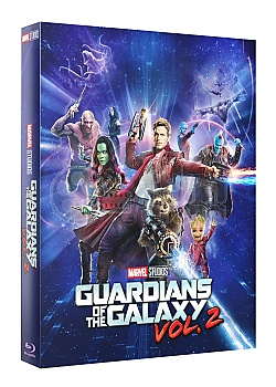 FAC #92 GUARDIANS OF THE GALAXY VOL. 2 Edition #2 3D + 2D Steelbook™ Limited Collector's Edition - numbered