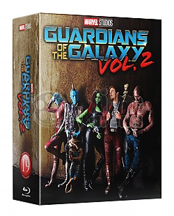 FAC #92 GUARDIANS OF THE GALAXY VOL. 2 Edition #3 HardBox 3D + 2D Steelbook™ Limited Collector's Edition - numbered