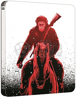 WAR FOR THE PLANET OF THE APES 4K Ultra HD 3D + 2D Steelbook™ Limited Collector's Edition