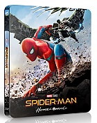 FAC #89 SPIDER-MAN: Homecoming + Lenticular magnet WEA Exclusive unnumbered EDITION #5B 3D + 2D Steelbook™ Limited Collector's Edition (Blu-ray 3D + Blu-ray)
