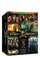 Pirates of the Caribbean 1 - 5 Collection (5 Blu-ray)