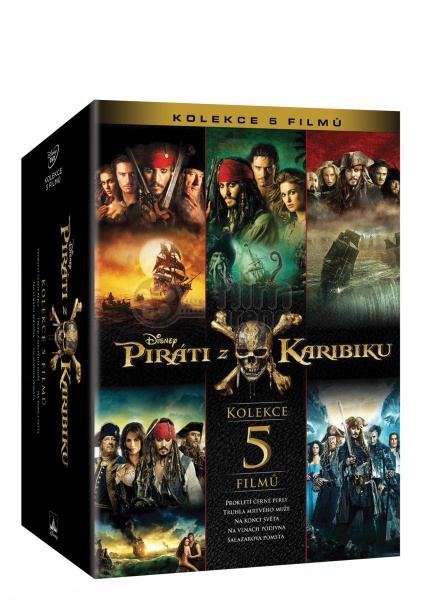 Pirates Of The Caribbean 1 5 Collection 5 Dvd