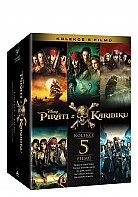 Pirates of the Caribbean 1 - 5 Collection (5 DVD)
