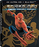 SPIDER-MAN 1 - 3 Origins Trilogy 4K Ultra HD DigiBook Collection (7 Blu-ray)