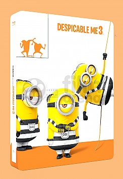 Despicable Me 3 3D + 2D Steelbook™ Limited Collector's Edition + Gift Steelbook's™ foil