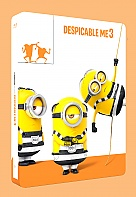 Despicable Me 3 3D + 2D Steelbook™ Limited Collector's Edition + Gift Steelbook's™ foil (Blu-ray 3D + Blu-ray)