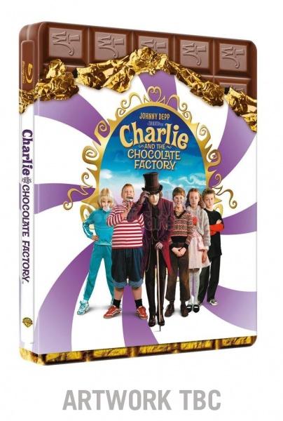 Charlie Chocolate Factory Steelbook