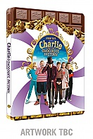Charlie and the Chocolate Factory (minor defects) Steelbook™ Limited Collector's Edition + Gift Steelbook's™ foil (Blu-ray)