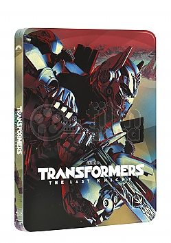 Transformers: The Last Knight 3D + 2D Steelbook™ Limited Collector's Edition + Gift Steelbook's™ foil