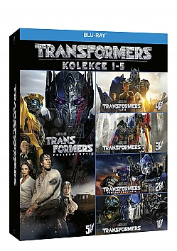 TRANSFORMERS 1 - 5 Collection