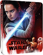 STAR WARS: Episode VIII - The Last Jedi 3D + 2D Steelbook™ Limited Collector's Edition + Gift Steelbook's™ foil (Blu-ray 3D + 2 Blu-ray)