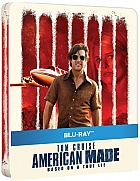AMERICAN MADE Steelbook™ Limited Collector's Edition + Gift Steelbook's™ foil (Blu-ray)