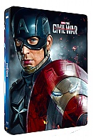 CAPTAIN AMERICA: Civil War + Lenticular Magnet 3D (New Visual) 3D + 2D Steelbook™ Limited Collector's Edition (Blu-ray 3D + Blu-ray)