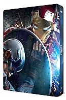 CAPTAIN AMERICA: Civil War + Lenticular Magnet 3D (New Visual) 3D + 2D Steelbook™ Limited Collector's Edition