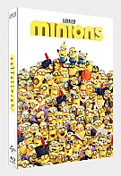 FAC #86 MINIONS FullSlip + Lenticular Magnet WEA Exclusive 3D + 2D Steelbook™ Limited Collector's Edition - numbered (Blu-ray 3D + Blu-ray)
