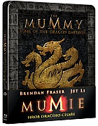 The Mummy: Tomb of the Dragon Emperor 4K Ultra HD Steelbook™ Limited Collector's Edition + Gift Steelbook's™ foil