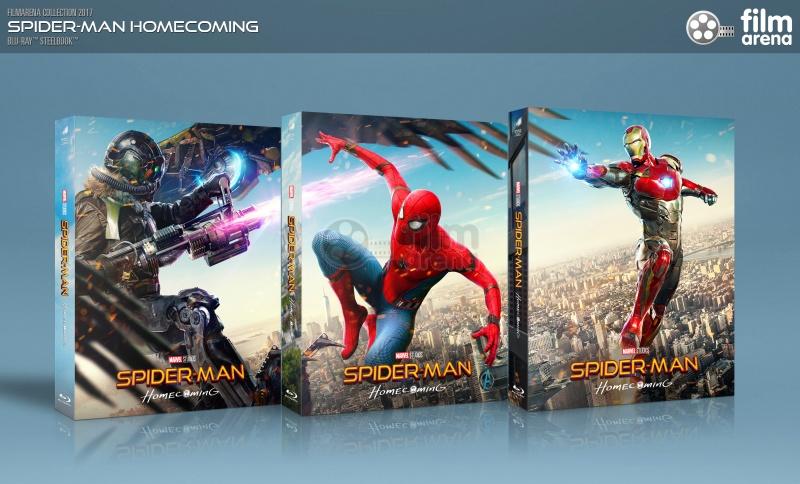 FAC #89 SPIDER-MAN: Homecoming LENTICULAR 3D FULLSLIP