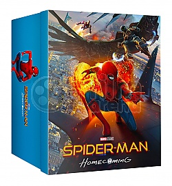 FAC #89 SPIDER-MAN: Homecoming MANIACS Collector's BOX (featuring E1 + E2 + E3 + E5B) EDITION #4 WEA Exclusive 4K Ultra HD 3D + 2D Steelbook™ Limited Collector's Edition - numbered