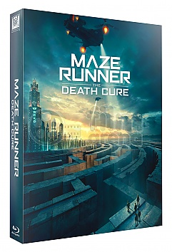 FAC #99 MAZE RUNNER: The Death Cure LENTICULAR 3D FULLSLIP XL Steelbook™ Limited Collector's Edition - numbered