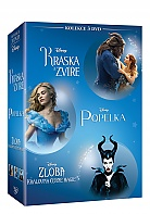 Beauty and the Beast + Cinderella + Maleficent Collection (3 DVD)