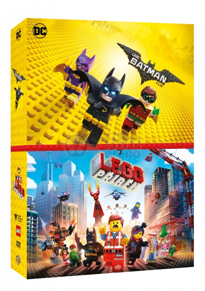 The Lego Batman Movie The Lego Movie Collection 2 Dvd