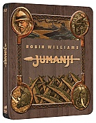 JUMANJI (1995) (Horizontal Artwork) Steelbook™ Limited Collector's Edition + Gift Steelbook's™ foil (Blu-ray)