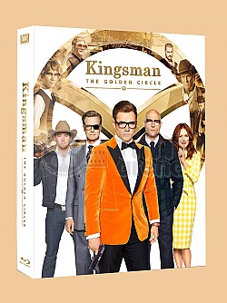 FAC #93 KINGSMAN: The Golden Circle FULLSLIP + LENTICULAR 3D MAGNET Steelbook™ Limited Collector's Edition - numbered