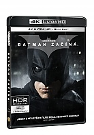 BATMAN BEGINS 4K Ultra HD (3 Blu-ray)