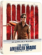 AMERICAN MADE 4K Ultra HD Steelbook™ Limited Collector's Edition (2 Blu-ray)