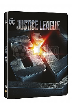 Justice League 3D + 2D Steelbook™ Limited Collector's Edition + Gift Steelbook's™ foil
