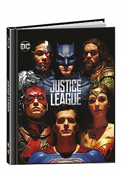 Justice League 3D + 2D DigiBook