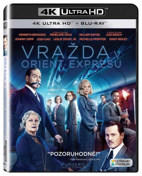 Murder On The Orient Express 2017 4k Ultra Hd Blu Ray