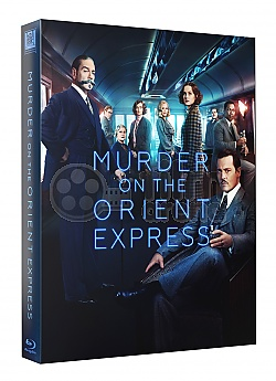 FAC #94 Murder on the Orient Express FULLSLIP XL + LENTICULAR MAGNET Steelbook™ Limited Collector's Edition - numbered