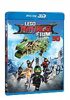 The LEGO Ninjago Movie 3D + 2D (Blu-ray 3D + Blu-ray)