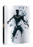 BLACK PANTHER 3D + 2D Steelbook™ Limited Collector's Edition + Gift Steelbook's™ foil (Blu-ray 3D + Blu-ray)