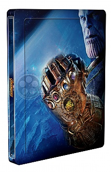 AVENGERS: INFINITY WAR 3D + 2D Steelbook™ Limited Collector's Edition + Gift Steelbook's™ foil